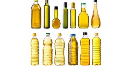 όλα τα είδη μπουκαλιών συσκευασίας ελαιόλαδου